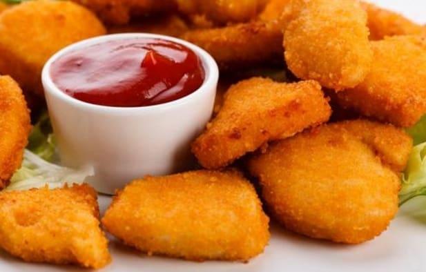 Receta de nuggets de pollo para cocinar con niños