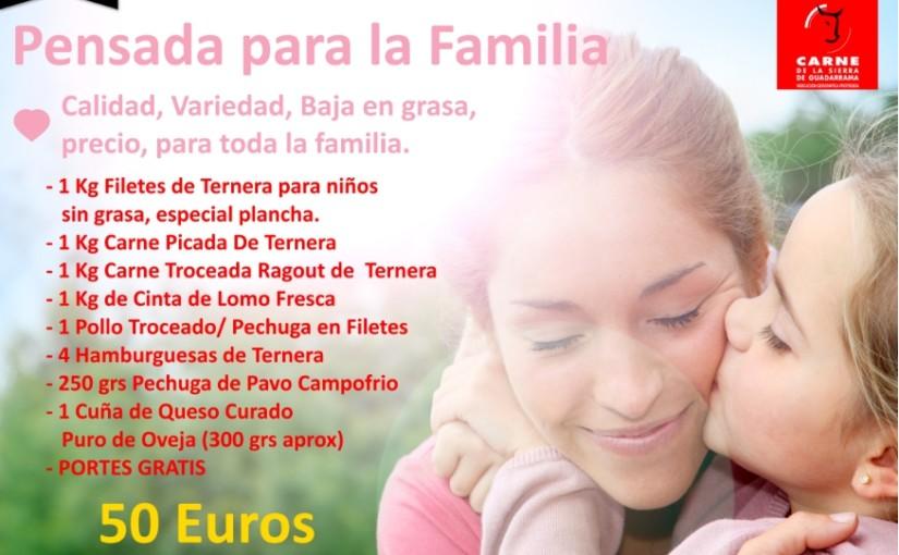 Carne de la Sierra de Guadarrama para los niños y toda la familia