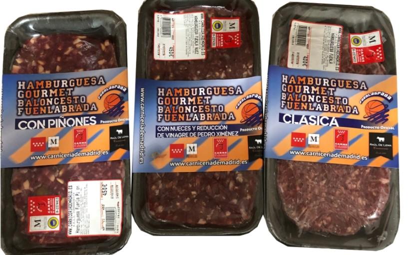 Nuevas hamburguesas exclusivas Baloncesto Fuenlabrada