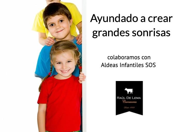 www.carniceriademadrid.es colabora con Aldeas Infantiles