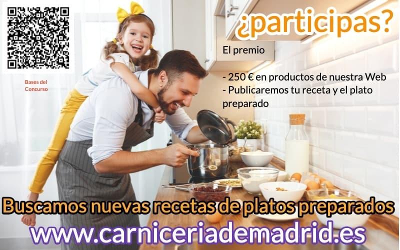 Bases de participación en el I concurso «Buscamos recetas para nuestros platos preparados»