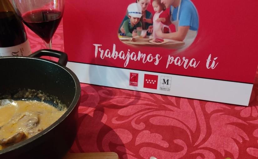 [RECETA] Filetes de cantero de ternera en salsa tradicional