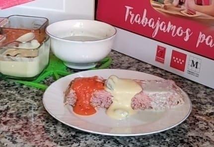 [RECETA] Pastel de aguja de ternera en frío con 3 salsas
