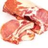 Chuleta de lomo de cerdo fresco