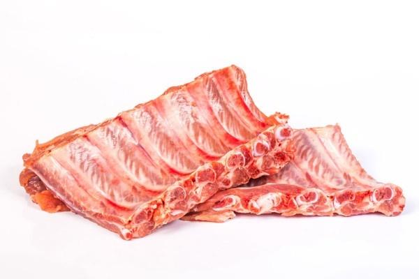 Costilla fresca de cerdo