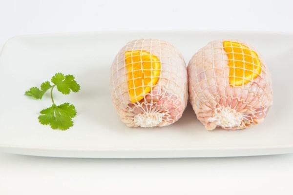 Muslos de pollo rellenos
