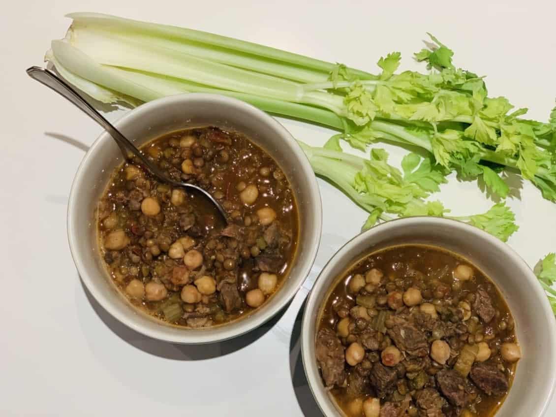 harira de ternera marroqui