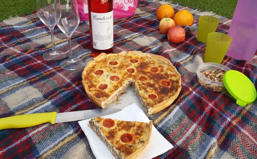 Cómo hacer QUICHE DE TERNERA (recetas de picnic)
