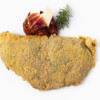 Cachopo de ternera relleno de pimientos asado con jamon iberico queso brie