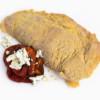 Cachopo de ternera relleno de pimientos rojos con queso azul