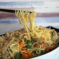 como hacer wok de ternera