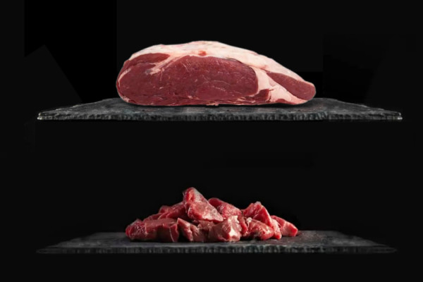 1 kg de lomo de ternera IGP + 1 Kg de carne de Guisar IGP